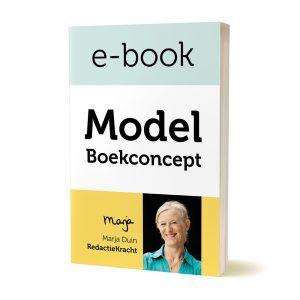 model boekconcept